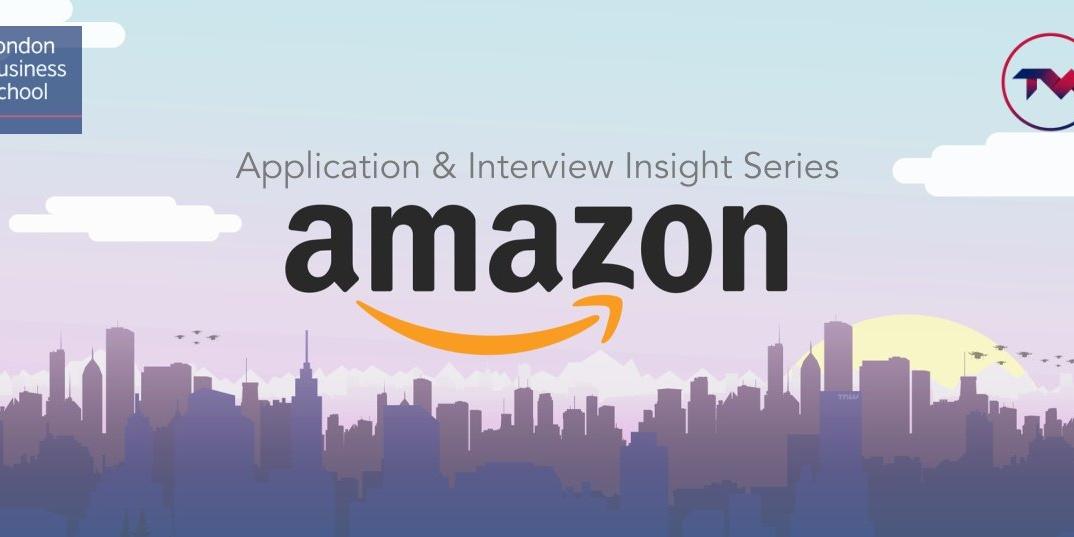 Interview Prep Panel - Amazon Event Logo