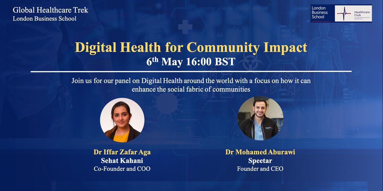 Healthcare Global Trek: Digital Health for Community Impact Event Logo