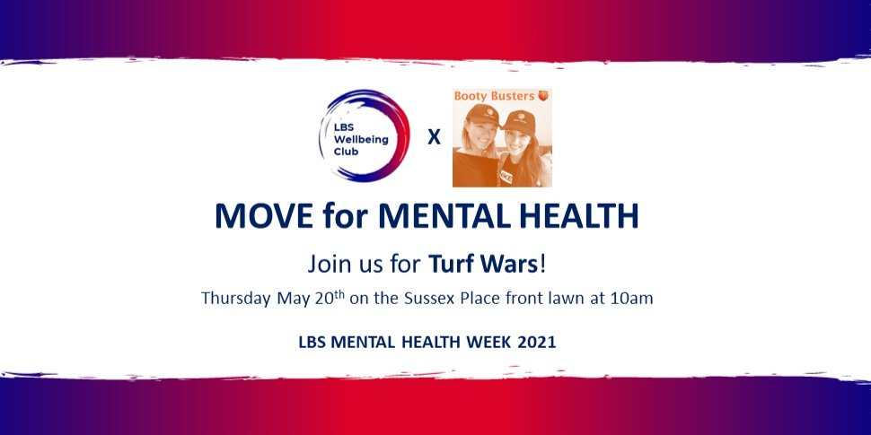 MHAW: Move for Mental Health - LBS TURF WARS Event Logo