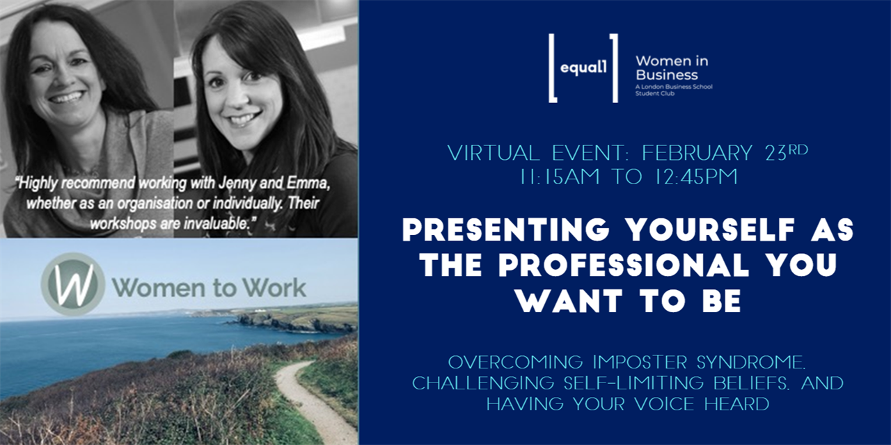 Presenting Yourself as the Professional You Want to Be Event Logo