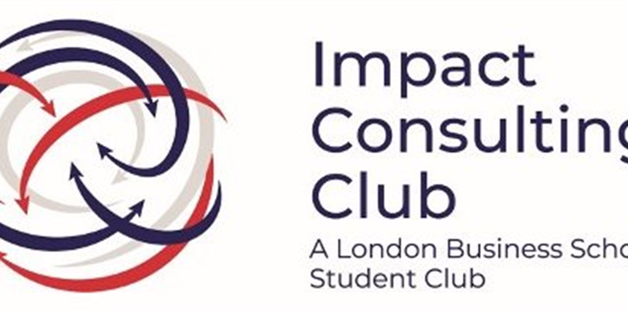 Impact Consulting Club Kick-Off! Event Logo