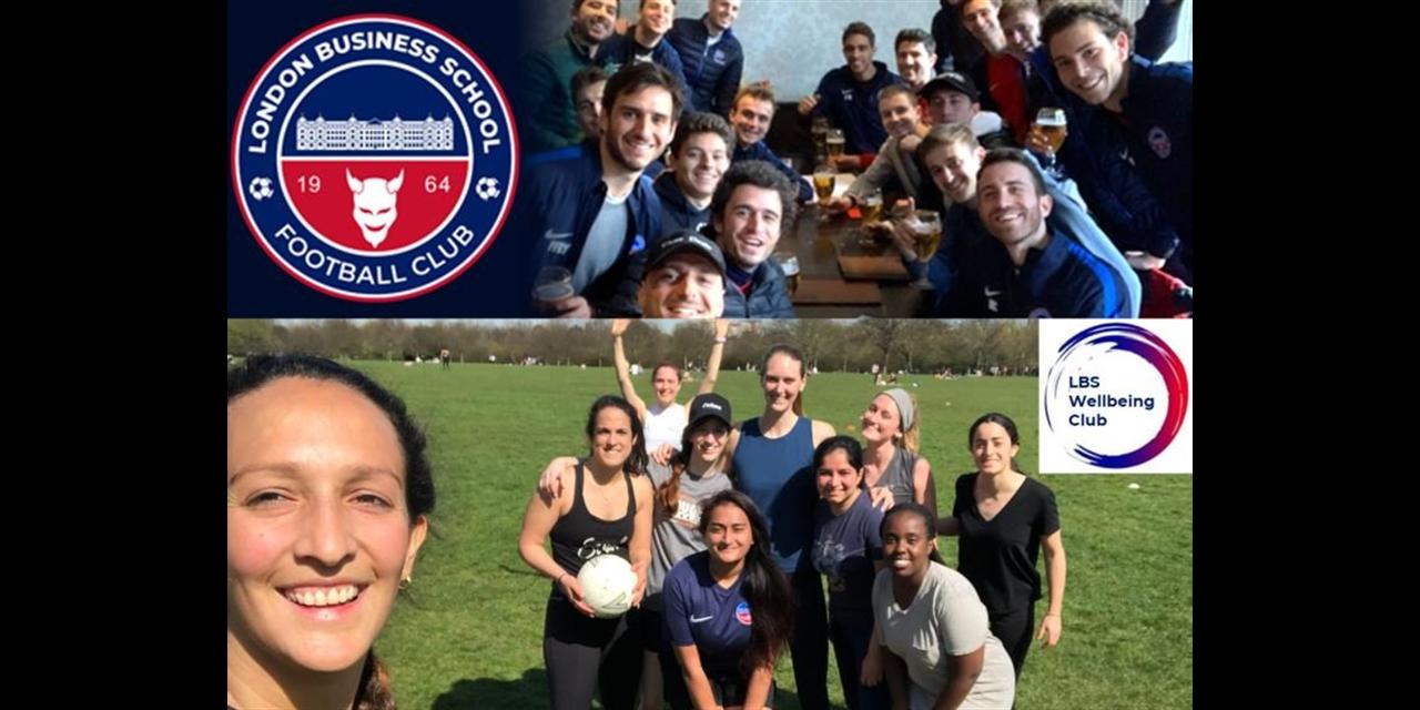 MHAW: Move for Mental Health x LBS Football Pre-InterStream Tournament Sporty Park Social Event Logo