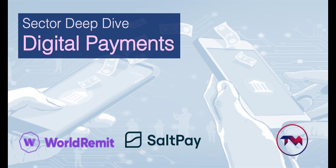 Tech Sector Deep Dive: Digital Payments Event Logo