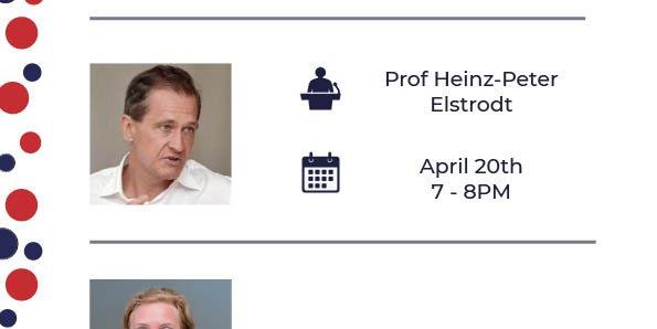 Professor Speaker Series (Session 1) Event Logo