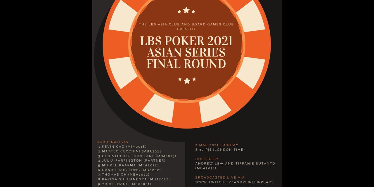 LBS Poker 2021: Asian Series (Final Round!) Event Logo