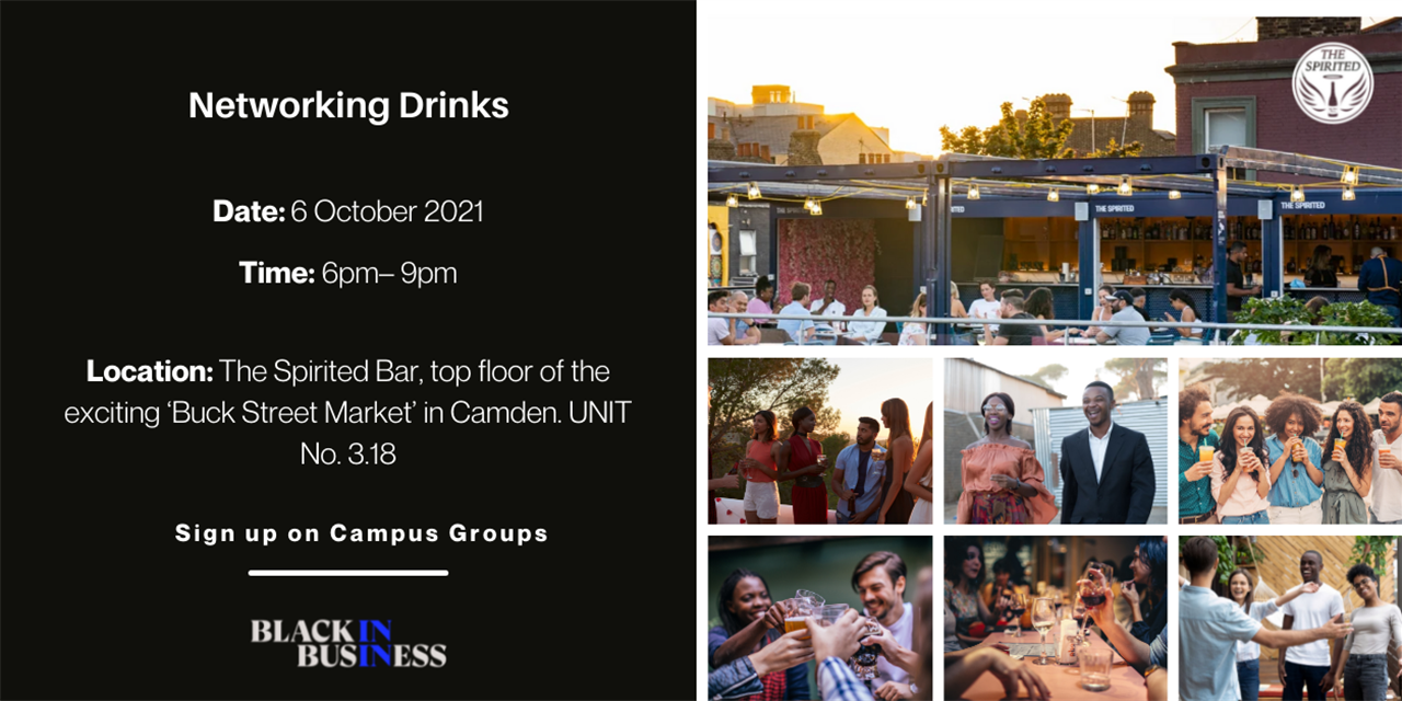 BiB Networking Drinks Event Logo