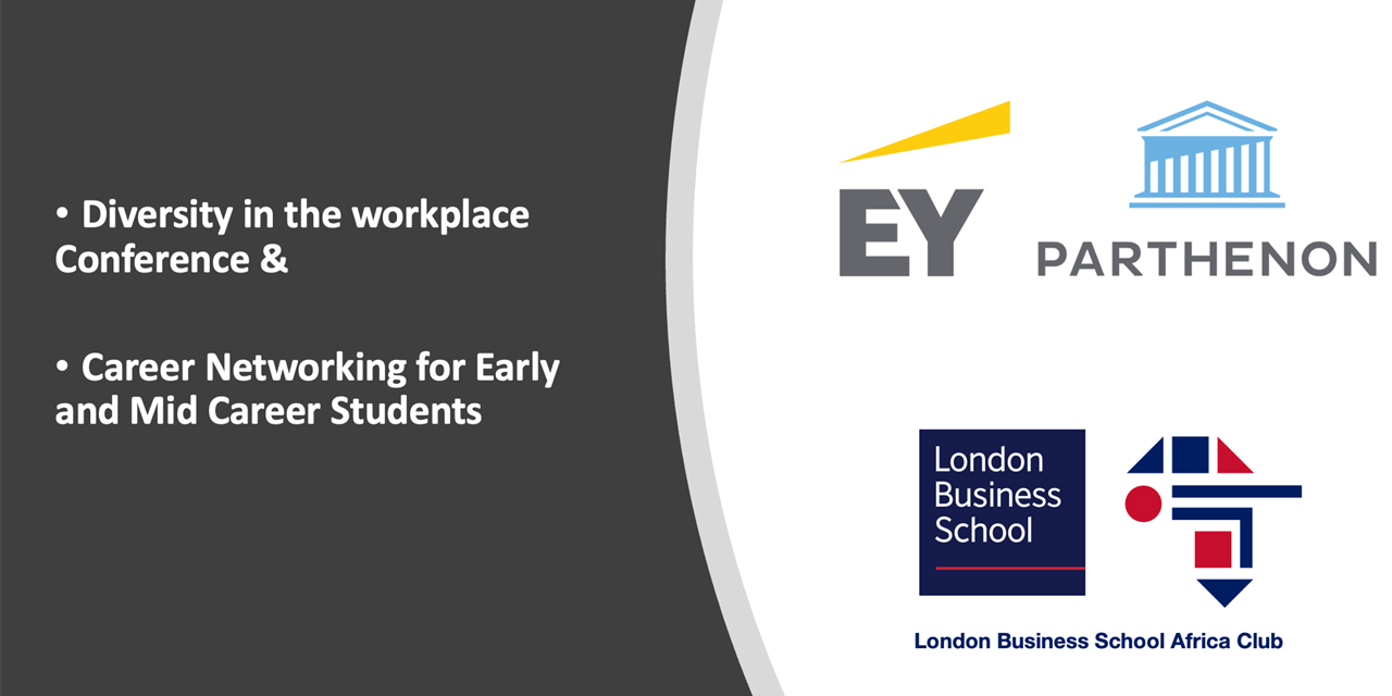 EY (Ernst & Young) - DIVERSITY CONFERENCE & CAREER NETWORKING Event Logo