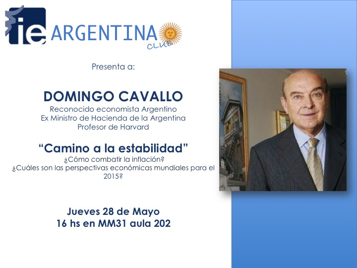 """Camino a la estabilidad"" - DOMINGO CAVALLO"