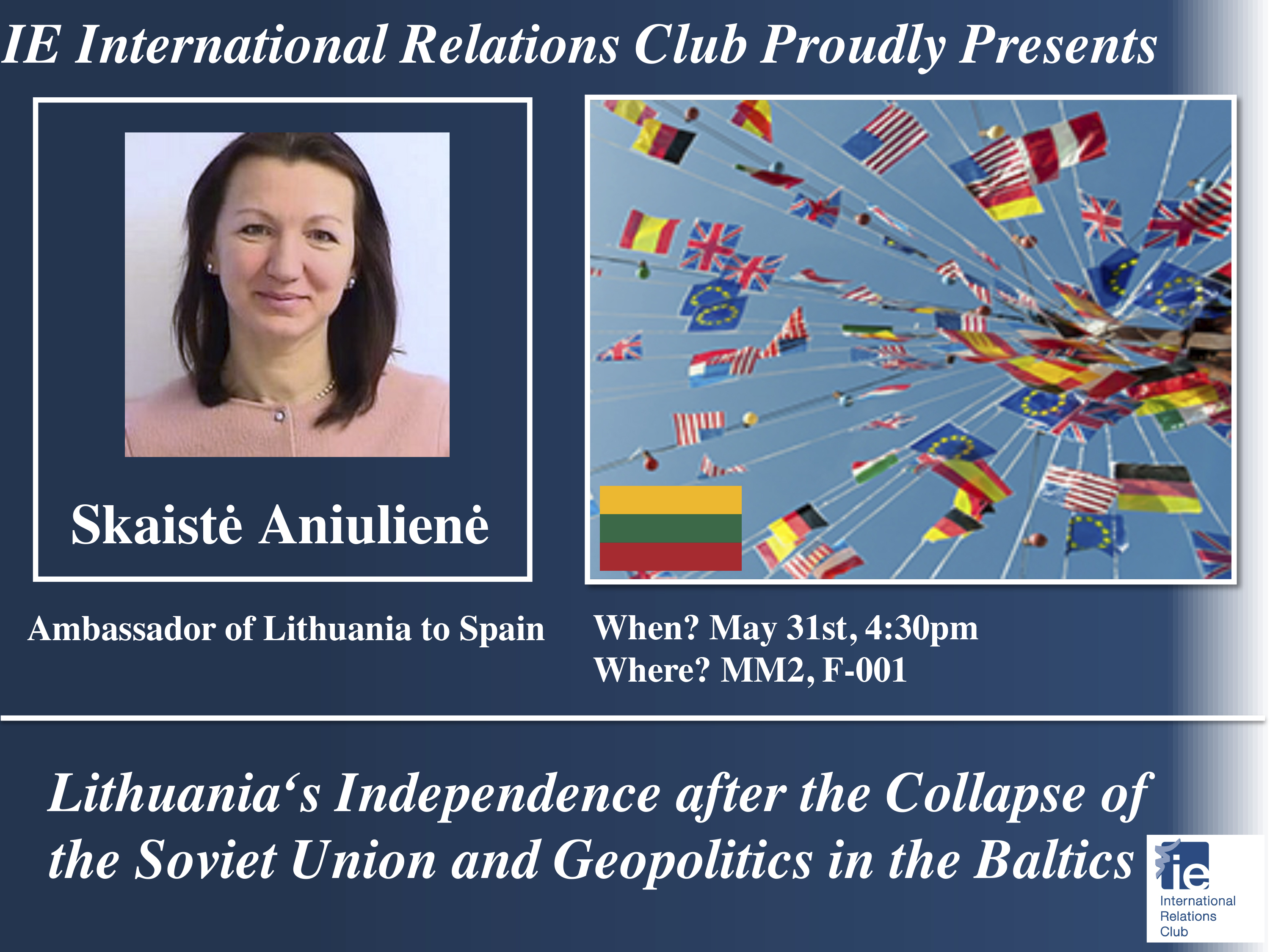 Lithuanian Ambassador to Spain: Geopolitics in Lithuania after the collapse of the Soviet Union
