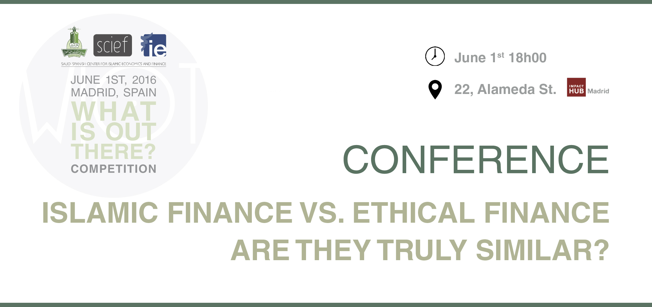 ISLAMIC FINANCE VS. ETHICAL FINANCE ARE THEY TRULY SIMILAR?