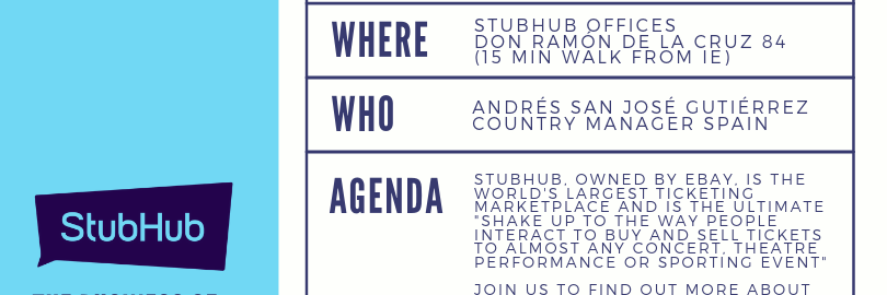 The Business of Online Ticketing: Visit to StubHub Offices