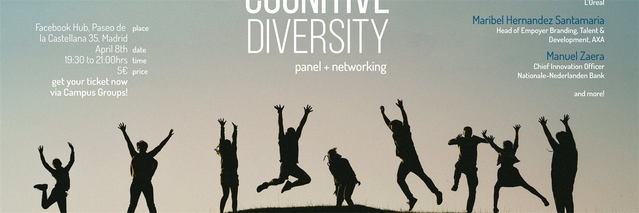 Cognitive Diversity Panel & Networking Drinks