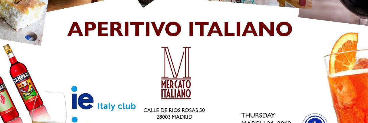 Aperitivo at Mercato Italiano