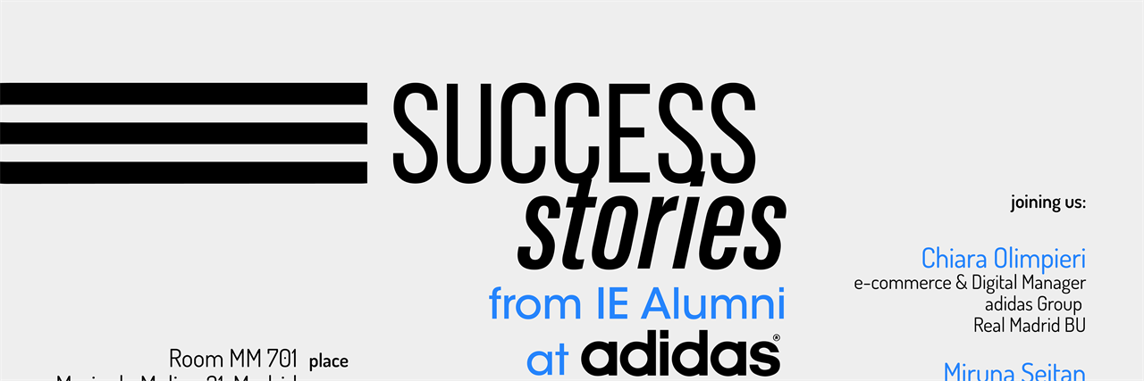 IE Success Stories from IE Alumni Working at Adidas