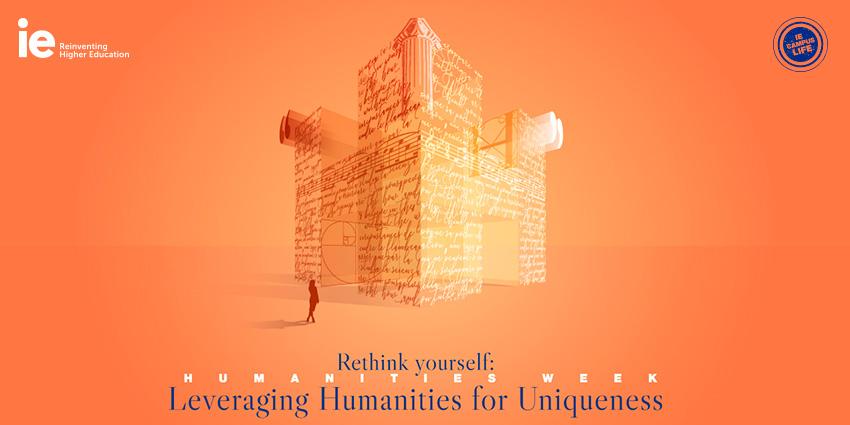 Speaker Panel. Leveraging Humanities for Uniqueness Event Logo