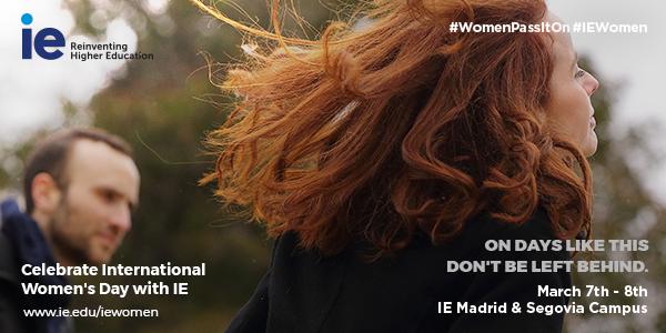 IE International Women's Day 2019 Event Logo