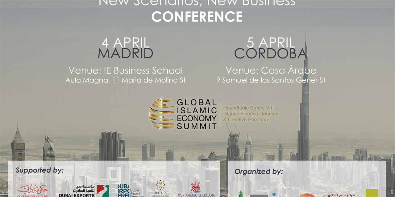 Conference 'Islamic Finance & Tourism: New Scenarios, New Business' Event Logo