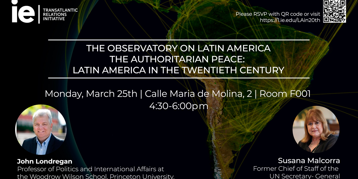 Observatory on Latin America: The Authoritarian Peace - Latin America in the Twentieth Century Event Logo