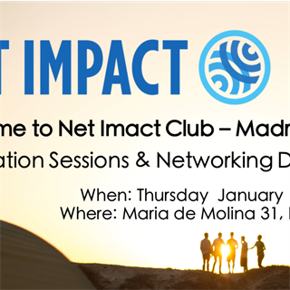 Net Impact - Information Session & Networking Drinks