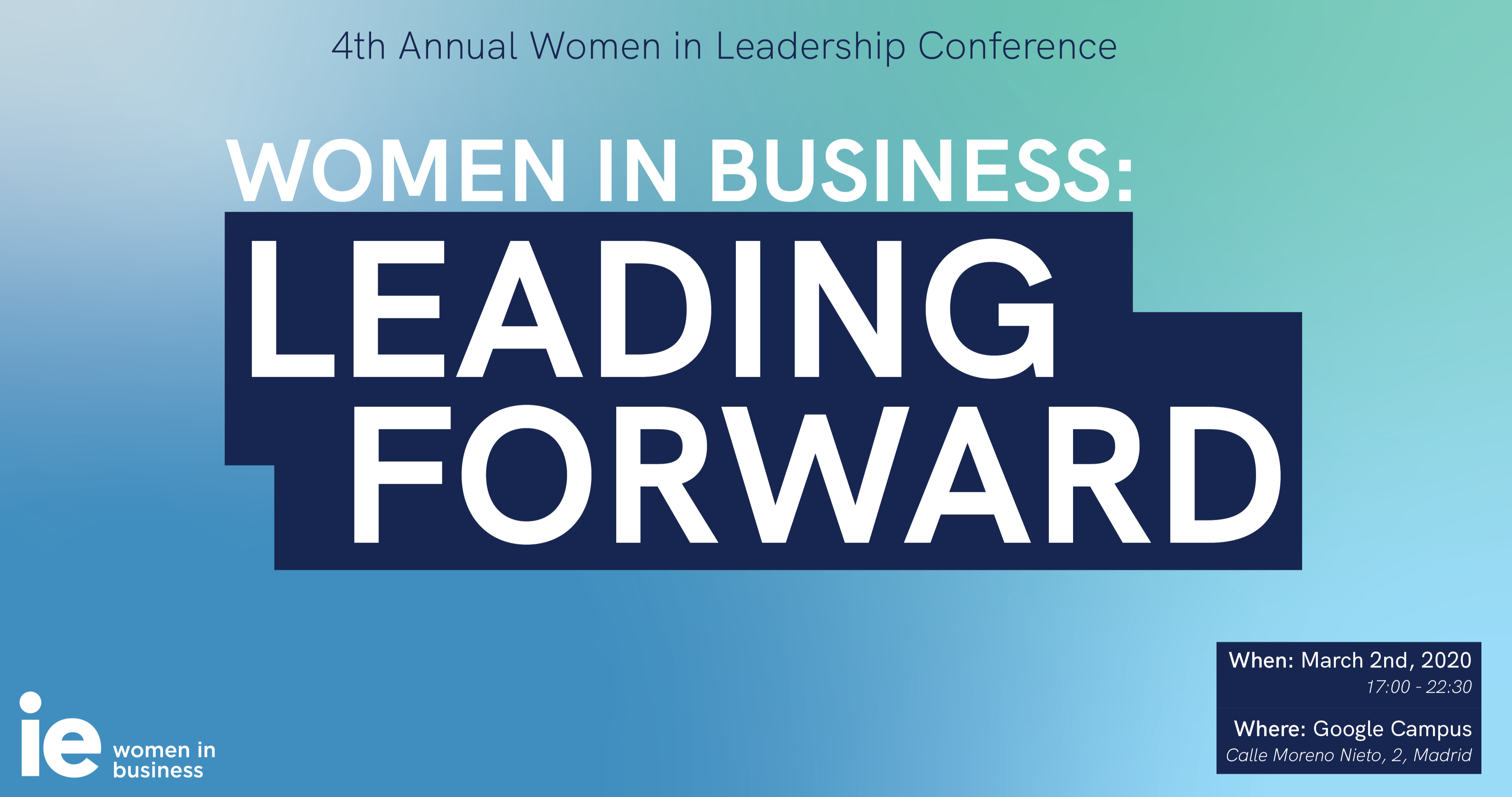 4th Annual Women in Leadership Conference: Leading Forward
