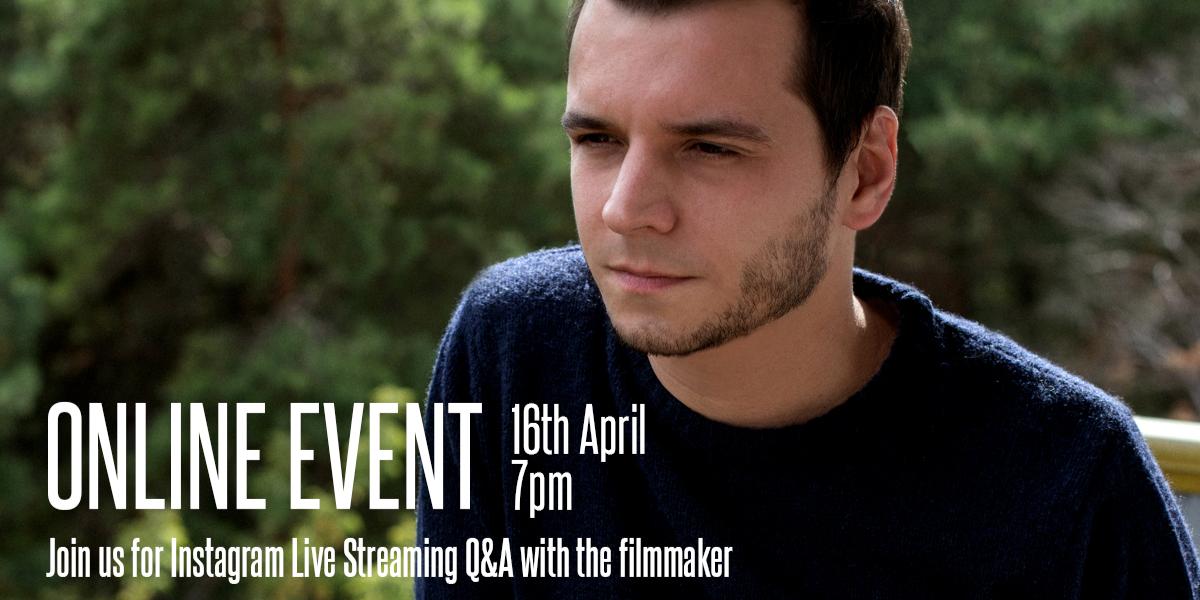 Online Short Film Showcase + Q&A Event Logo