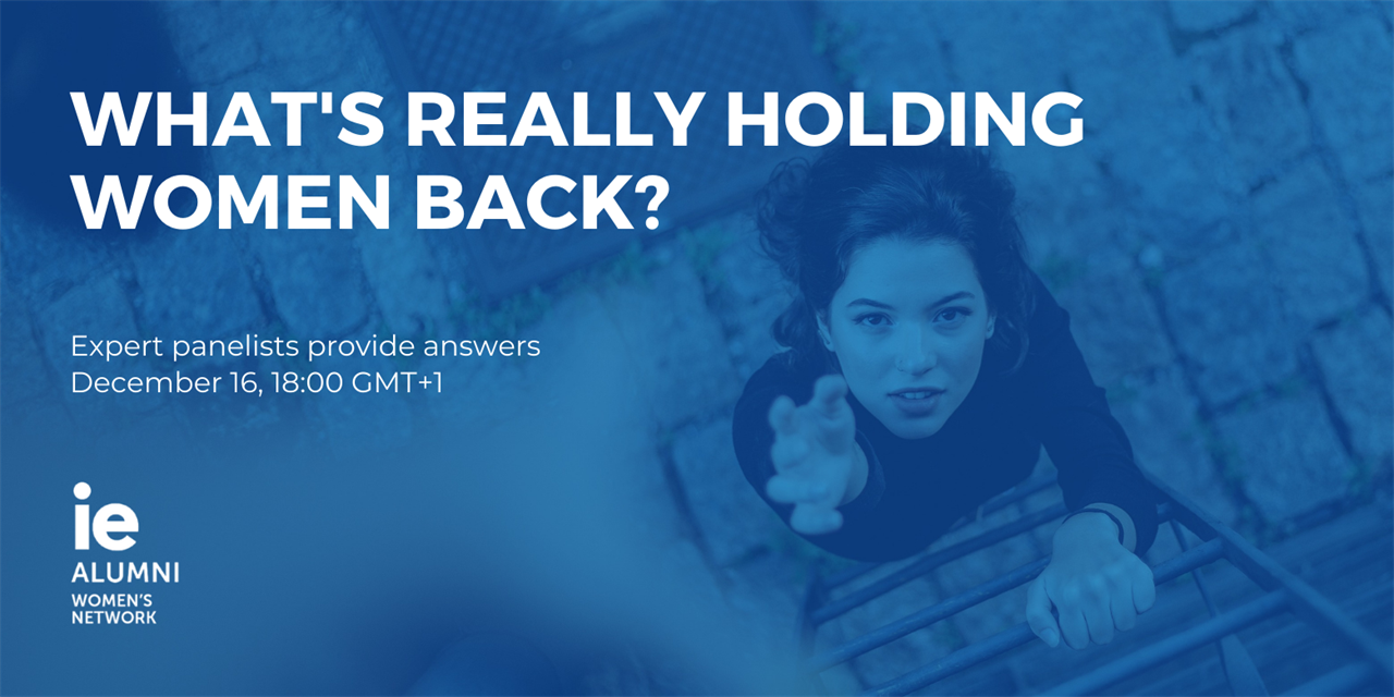 What's Really Holding Women Back? Event Logo