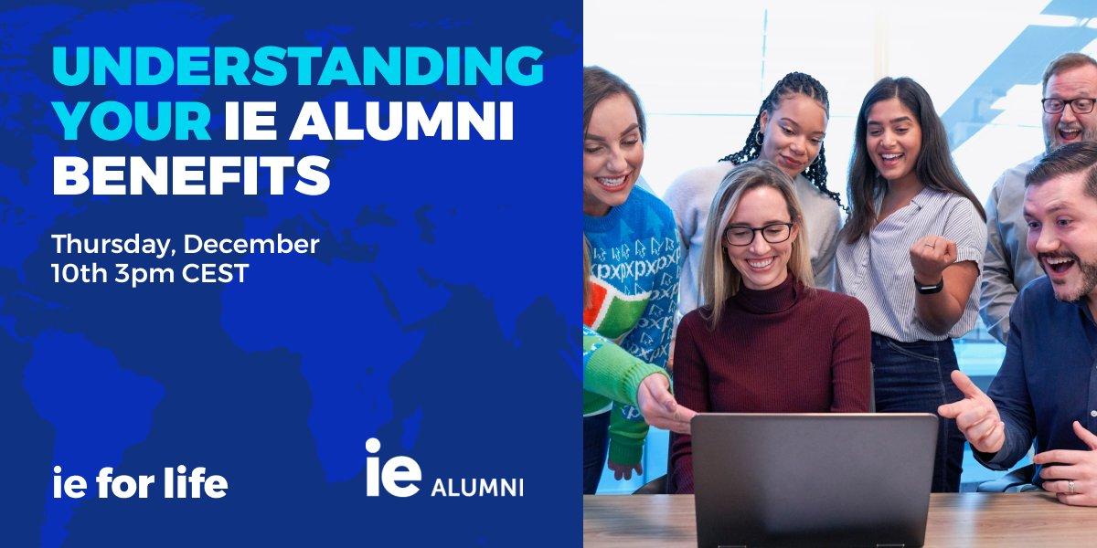 Understanding Your Alumni Benefits Event Logo
