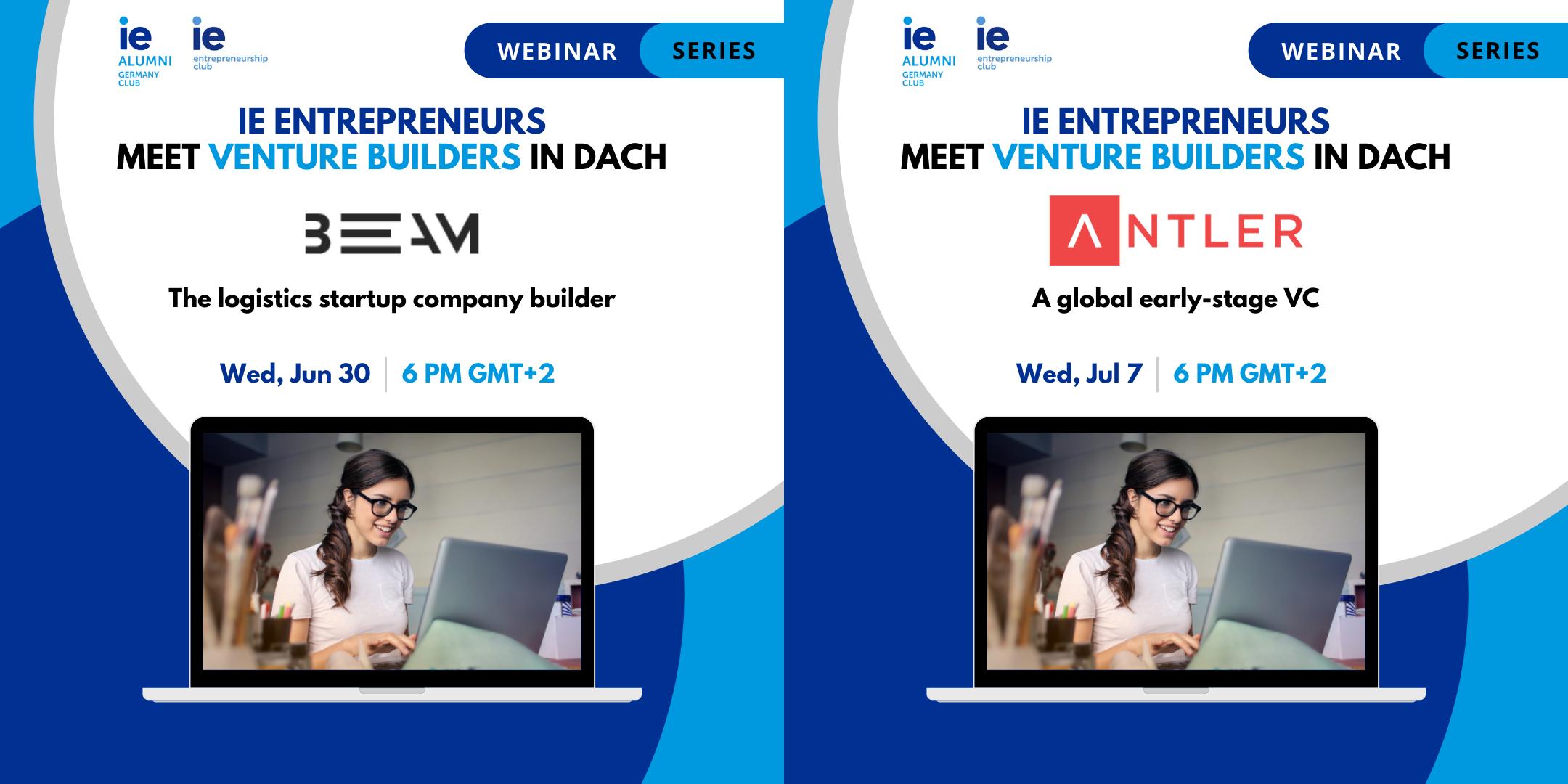 IE Entrepreneurs meet Venture Builders in DACH