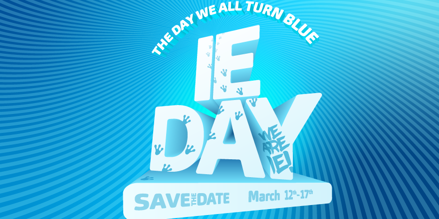 IE DAY DANCE Event Logo