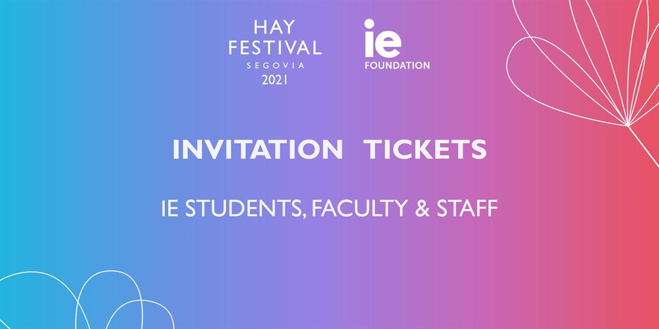 HAY FESTIVAL SEGOVIA 2021 - IMAGINE THE WORLD Event Logo