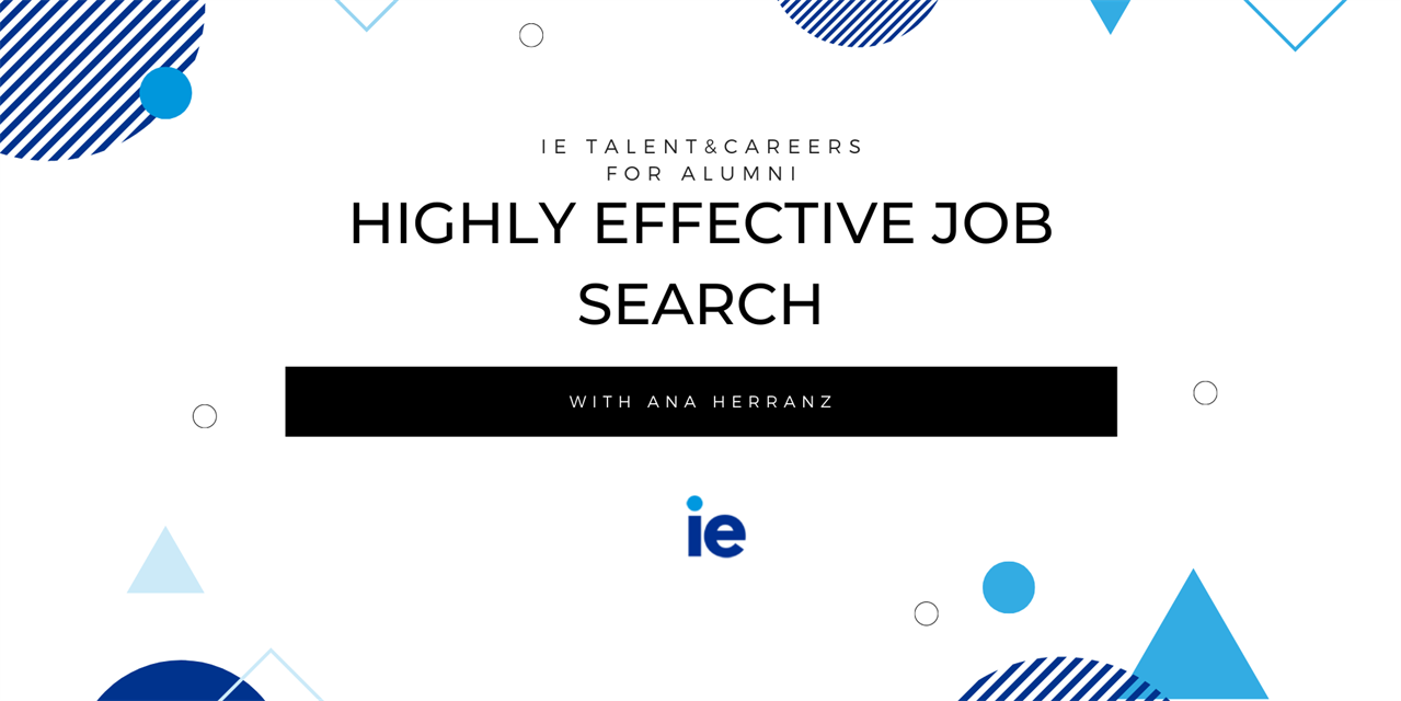 Highly effective job search: The advantage of networking in job search Event Logo