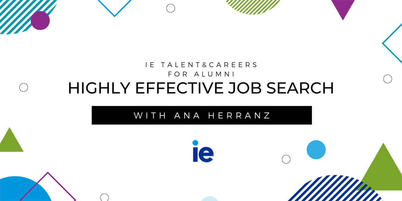 Highly effective job search: Get your Job Search Project ready_Lesson 1 Event Logo