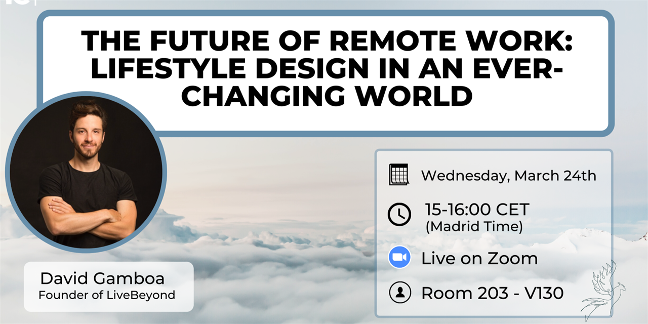 The Future of Remote Work: Learn Lifestyle Design in an Ever-Changing World Event Logo