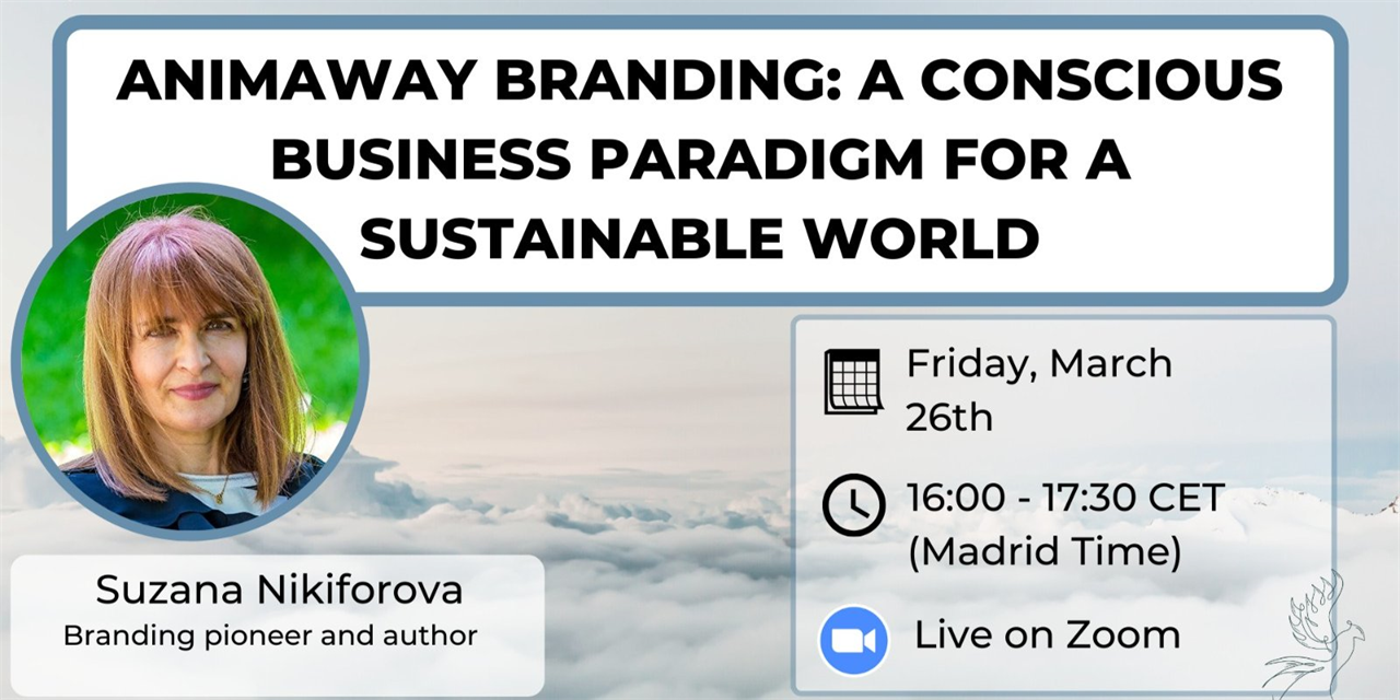 Animaway Branding: A Conscious Business Paradigm for A Sustainable World Event Logo