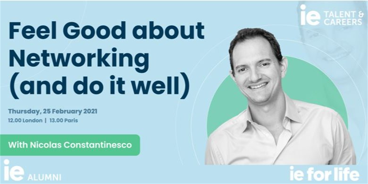 Feel Good about Networking (and do it well) Event Logo