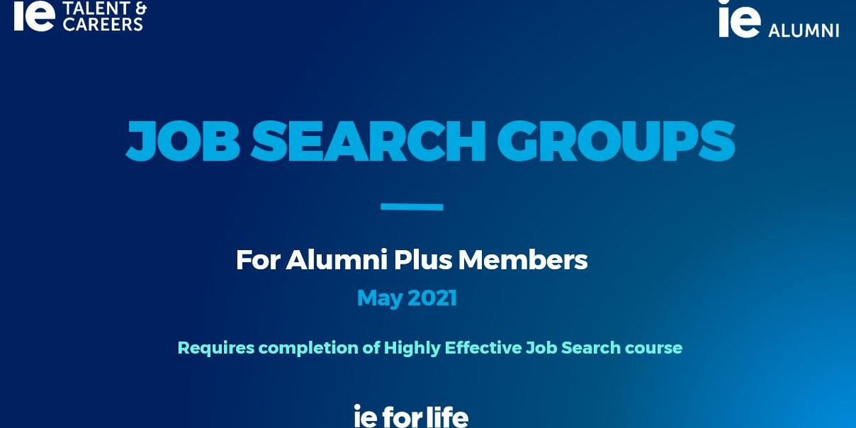 JOB SEARCH GROUP Event Logo