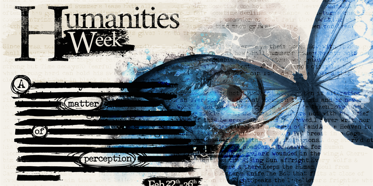 Humanities Week: A Matter of Perception Event Logo