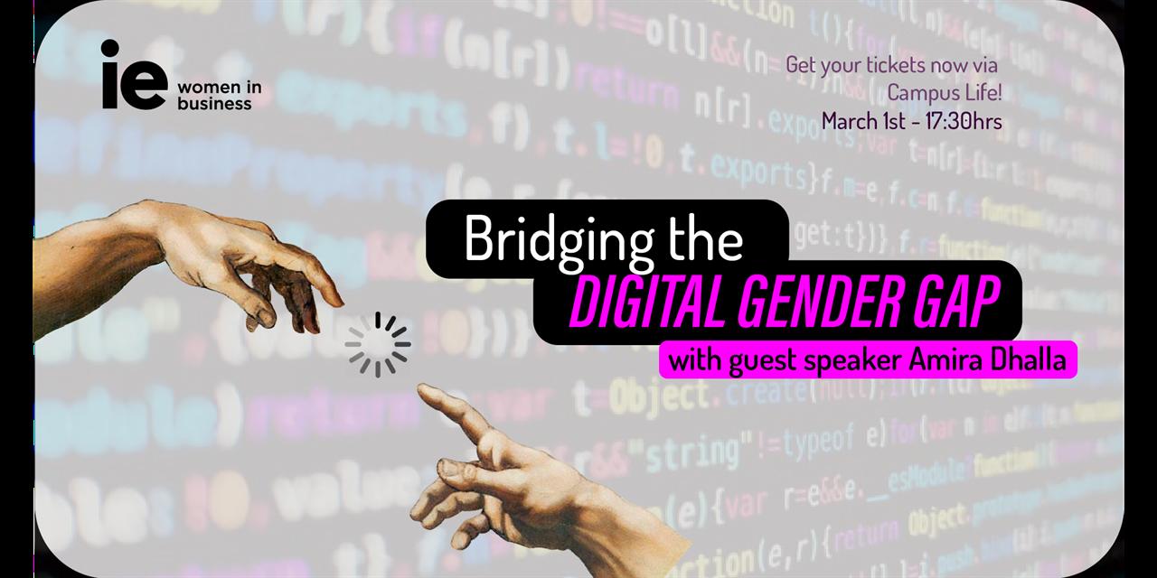 Bridging the Digital Gender Gap Event Logo
