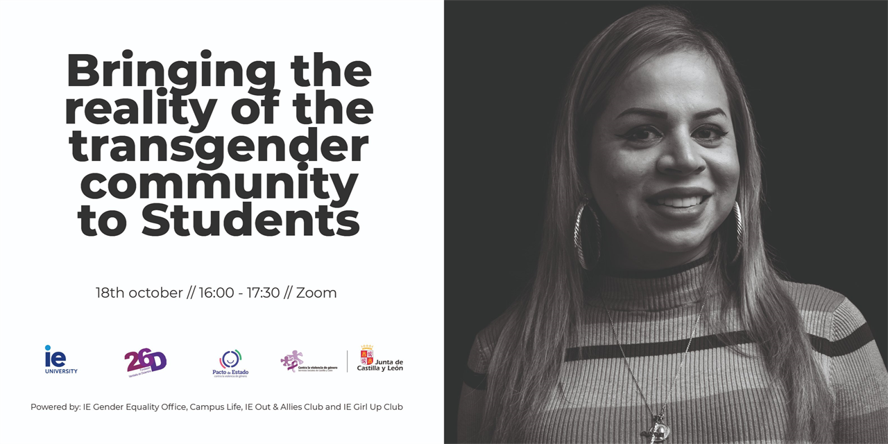 Bringing the reality of the transgender community to Students Event Logo