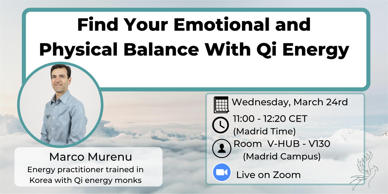 Find Your Emotional and Physical Balance with Qi Energy Event Logo