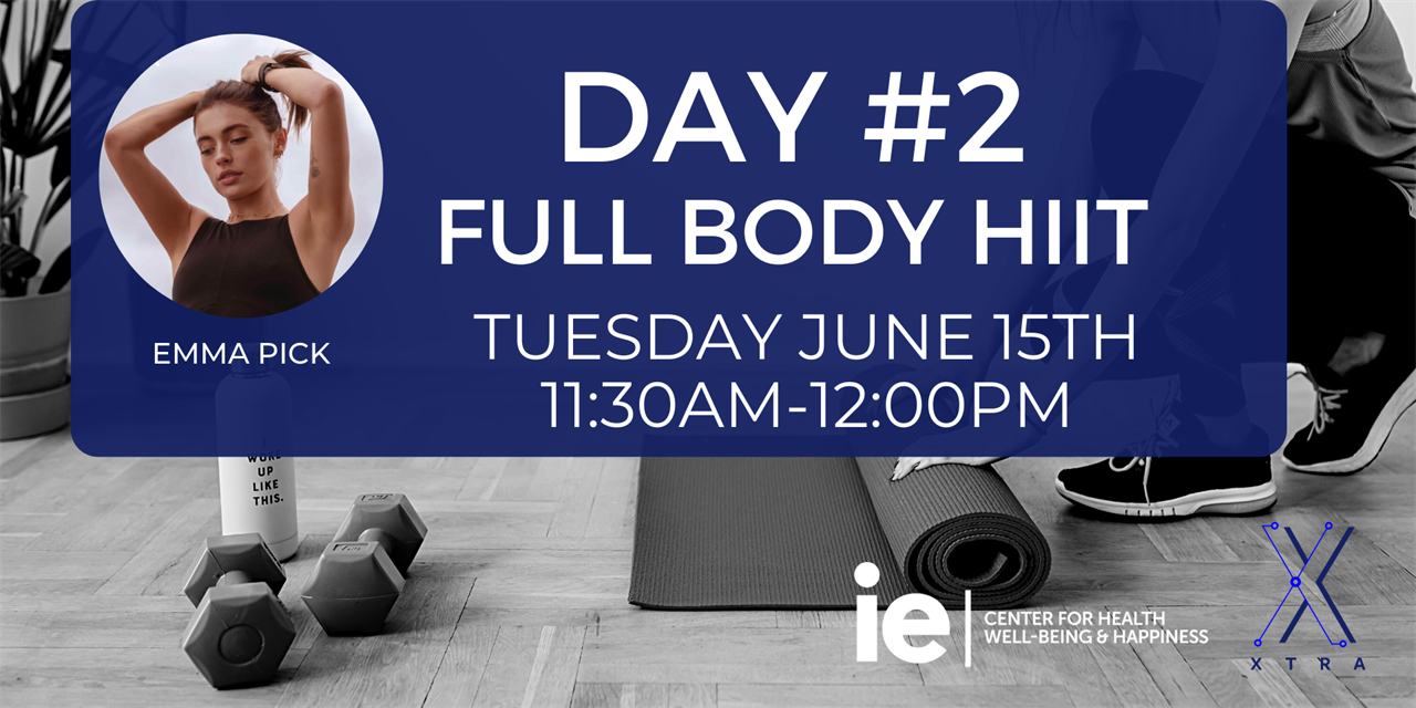 Day#2 Full Body HIIT (Live Class) Event Logo