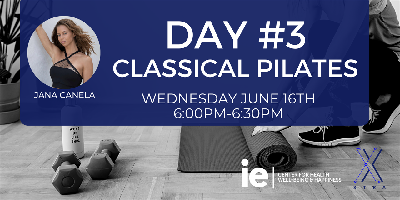 Day#3 Classical Pilates (Live Class) Event Logo