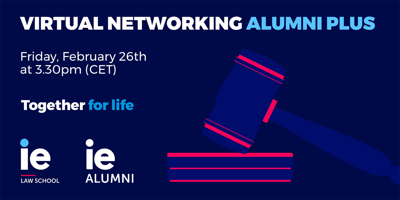 Virtual Networking: New Challenges in the Legal Sector Event Logo