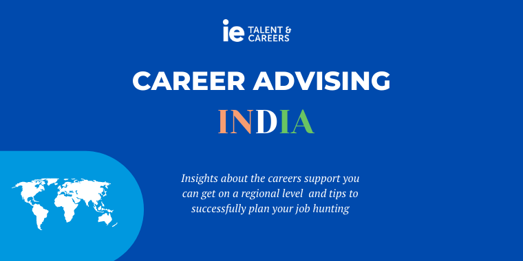 INDIA Career Advising Session Event Logo