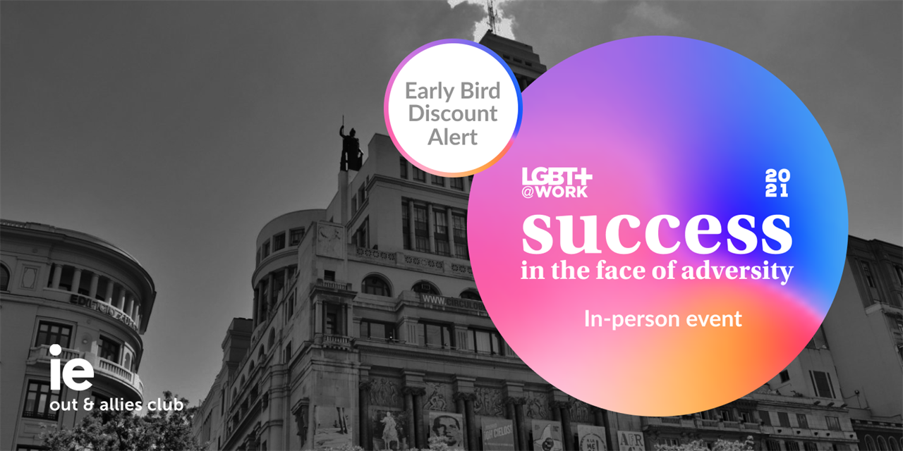 LGBT+@Work 2021 (In-Person Conference) Event Logo