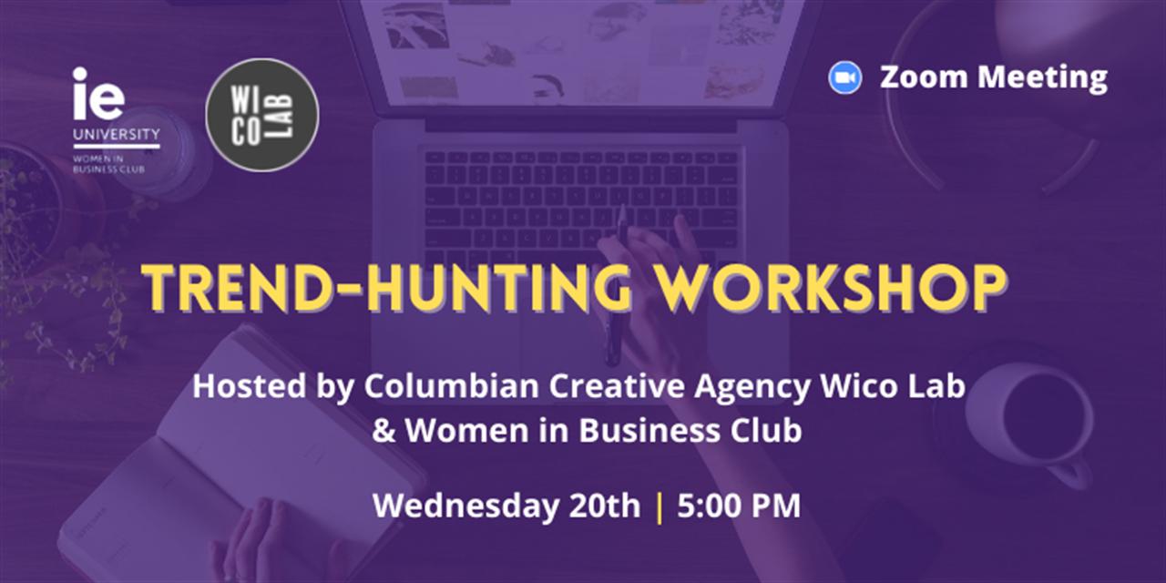 Trend Hunting Workshop Event Logo