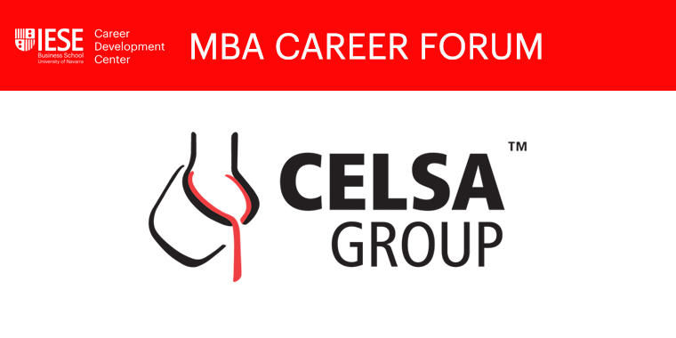 Career Forum: Celsa Presentation