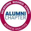 Business Analytics Alumni Chapter's logo