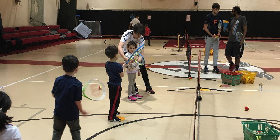 Youth Group Tennis Lessons at COLUMBIA PREP (Ages: 4 to 11)