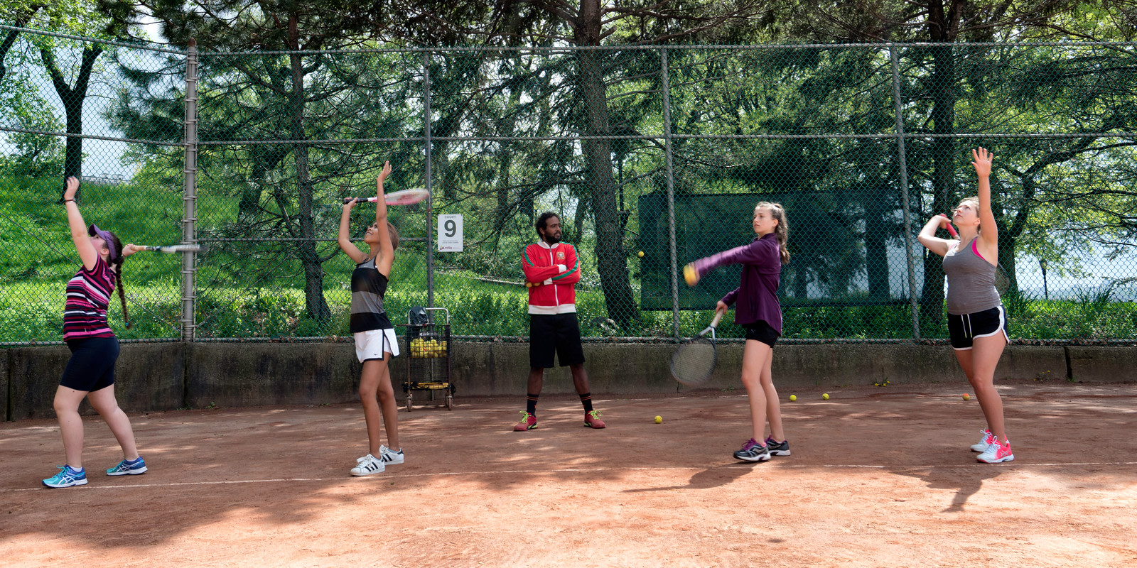 Spring 2020 Youth Group Tennis Lessons  (Ages: 14  to 16)